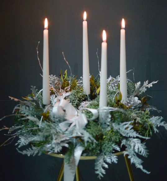Christmas Bliss Table Wreath Centrepiece