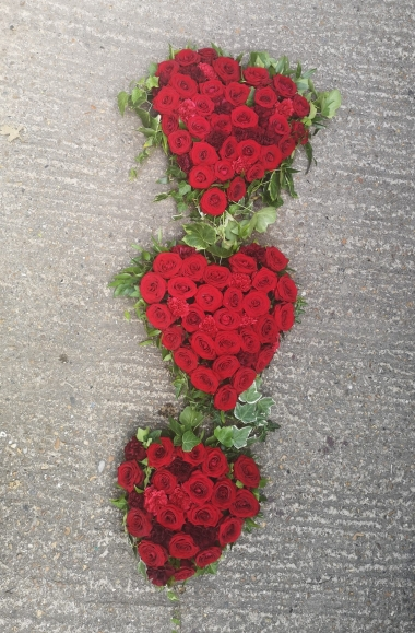 Red Roses Heart Trio