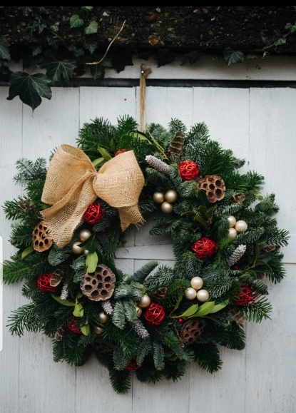 Grace Christmas Wreath