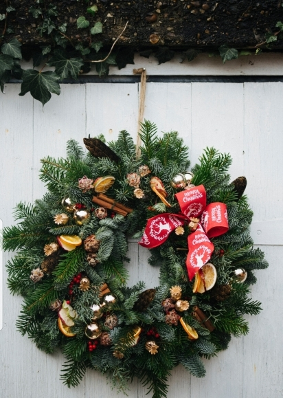 Faith Christmas Wreath