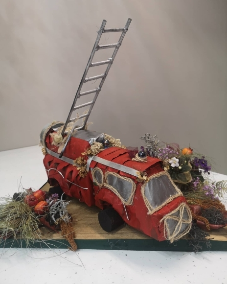 Bespoke Fire Engine Toy
