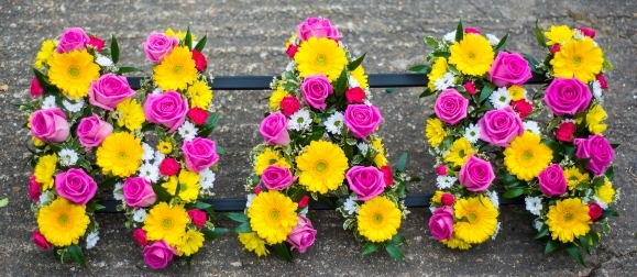 Bright Mixed flowers NAN tribute