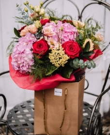 The Sweetest Thing Hand Tied Bouquet